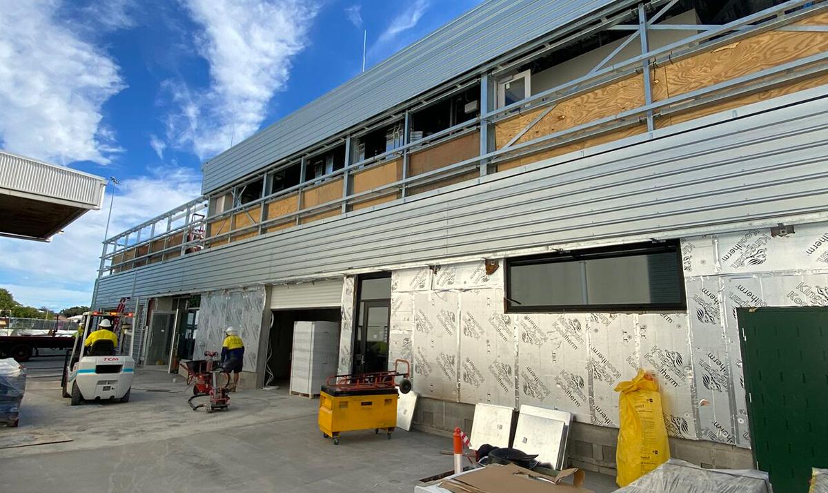 QLD Museum Wet Store Construction