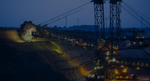 industrial mining