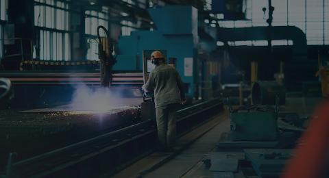 worker in manufacturing factory